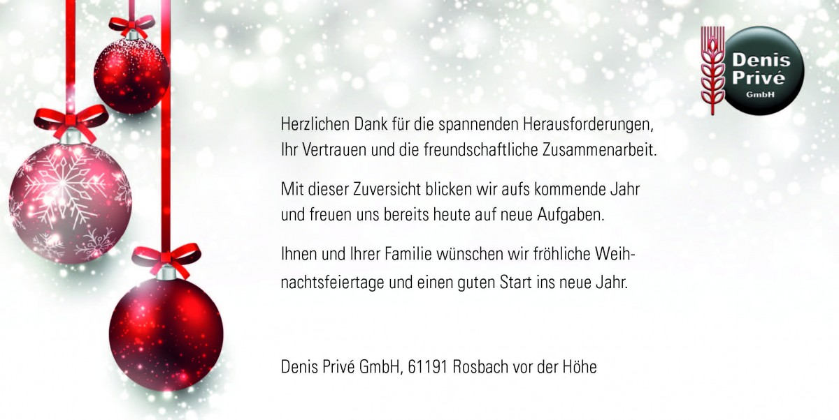 Denis Prive - Weihnachtskarte